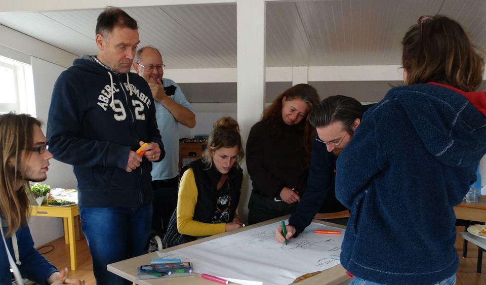 workshop energie in een ecosysteem, De Oorsprong, Deventer