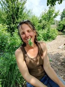 Katharine Hone, eigenaar Permacultuur Zwolle